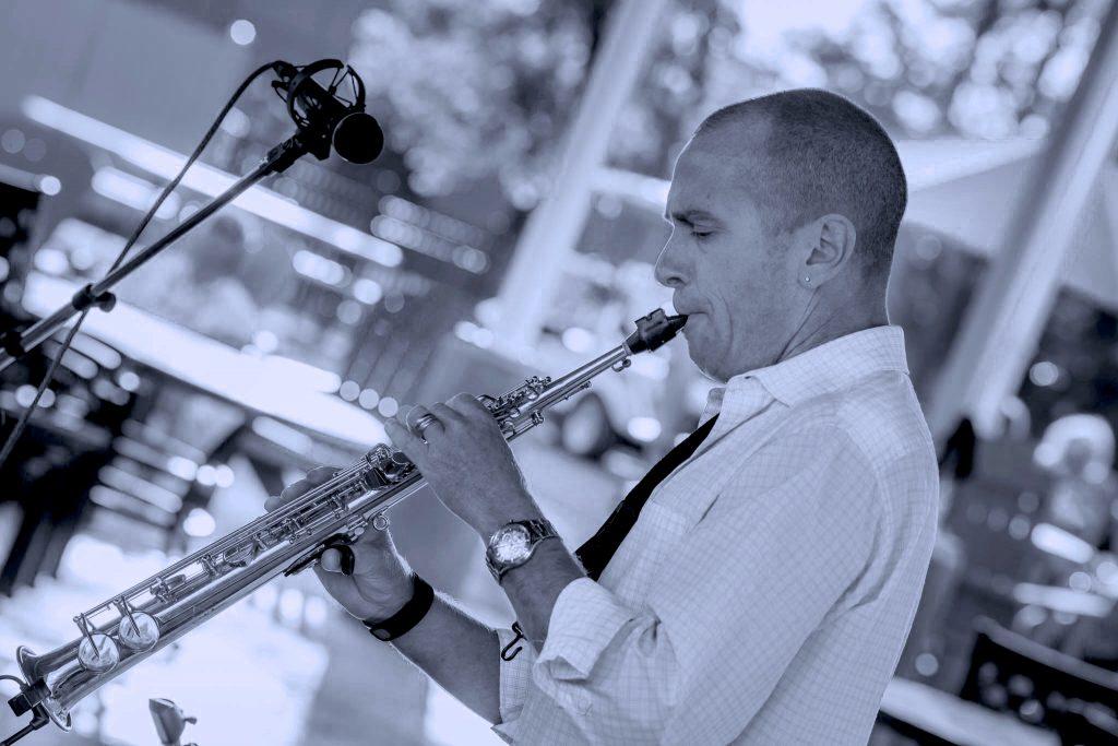 Brian Scherer Reeds Funky Jazz Band Syracuse New York